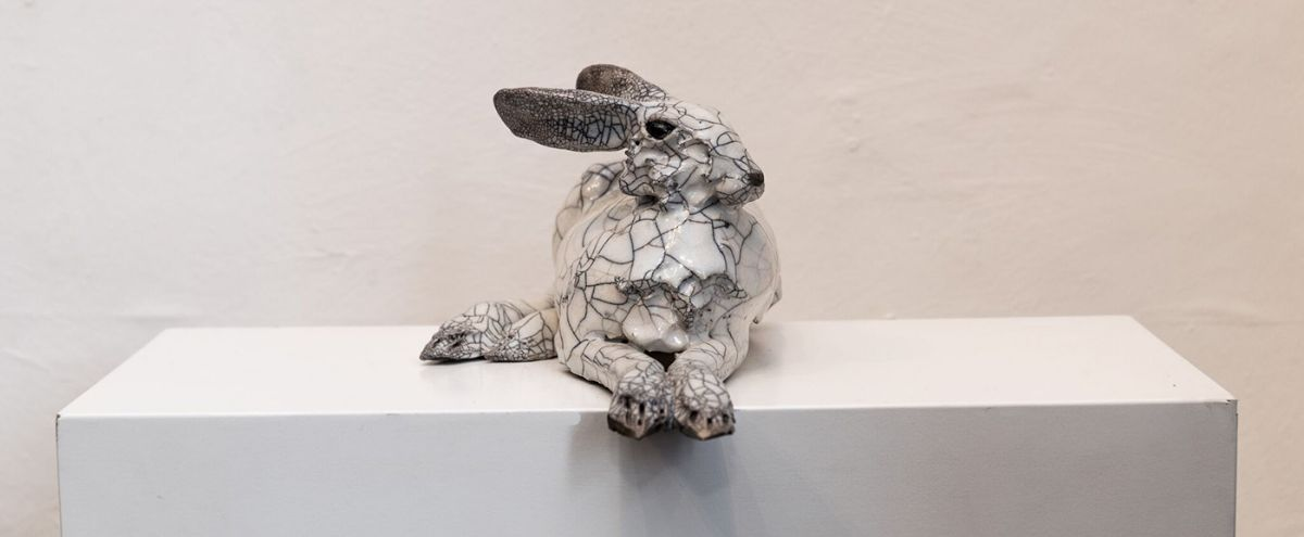 Lying hare 2 by Carol Read Richard Ballantyne